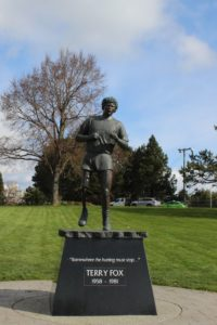 Terry Fox 銅像