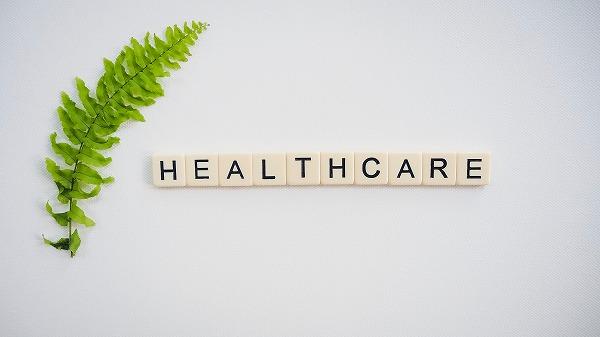 Health Care文字ブロック