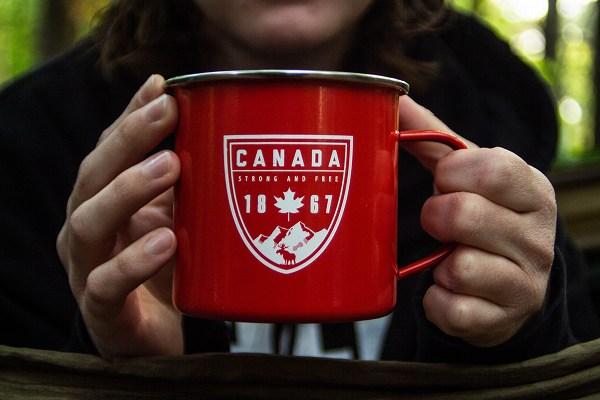 カナダのカップ